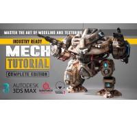[Gumroad] Mech Tutorial Complete Edition [RUS] Всеобъемлющее руководство по созданию боевого Меха