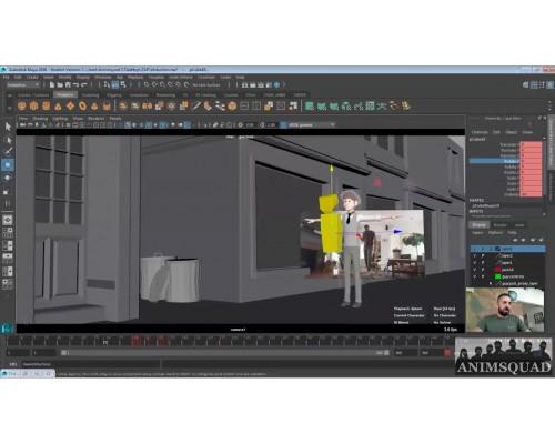 [Animsquad] Master Class: Animating a Cartoony Shot [RUS].  Мастер-класс по анимации мультяшного шота