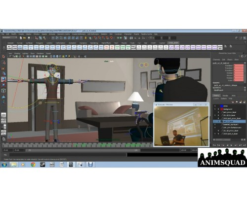 [AnimSquad] Master Class: Disney's Zach Parrish & Brent Homman [ENG-RUS]. Мастер-класс от аниматоров Disney Зака Пэрриша и Брента Хоммана