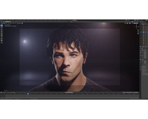 [Flippednormals] Face Rigging in Blender [RUS]. Риггинг реалистичного лица в Blender для Unreal Engine 4
