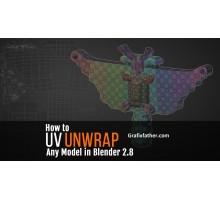 [Skillshare] How to UV Unwrap Anything in Blender 2.8 [ENG-RUS]. Как развернуть все что угодно в Blender 2.8