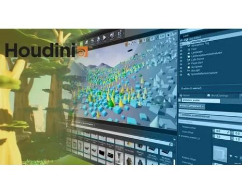 [Artstation Learning] Introduction to Houdini: Procedural Scattering & Houdini in UE4 [ENG-RUS]. Введение в Houdini: Процедурный скэттеринг & Houdini в UE4