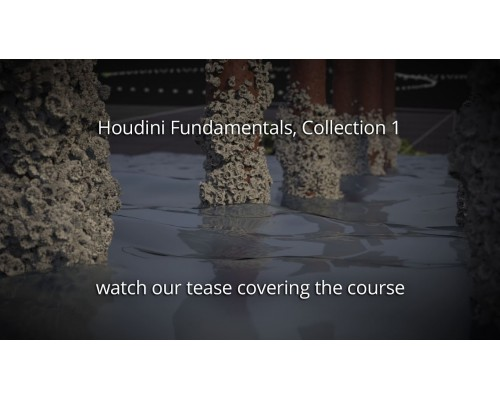 [FXPHD] Houdini Fundamentals Collection 1 [ENG-RUS]. Основы Houdini. Коллекция 1