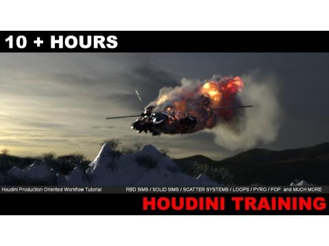 """Добавлен курс """"VFX как в студии / Эффекты в Houdini"""""""