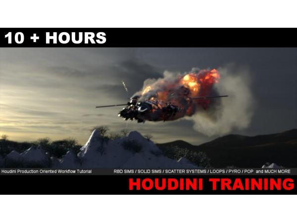 VFX как в студии / Эффекты в Houdini