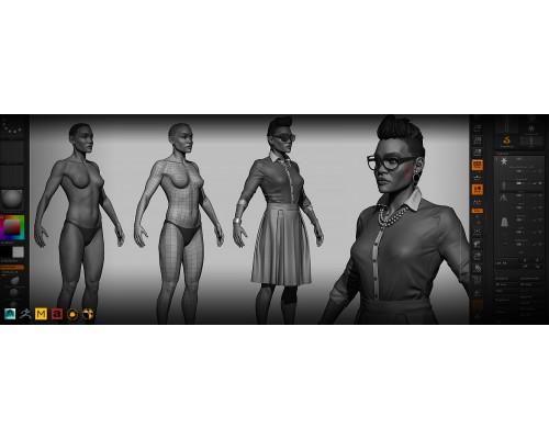 [The Gnomon Workshop] Character Modeling for Production [RUS]  Моделирование персонажа для производства