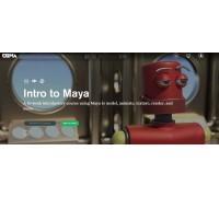 [CGMA] Intro to Maya Part 1-2 [ENG-RUS]. Введение в Maya. Часть 1-2