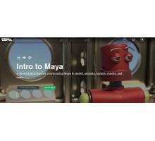 [CGMA] Intro to Maya Part 1 [ENG-RUS]. Введение в Maya. Часть 1