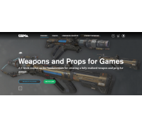 [CG Master Academy] Weapons and Props for Games [RUS]  Оружие и объекты для игр