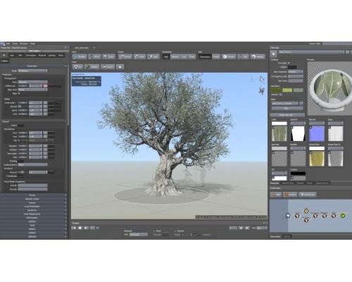 [FXPHD] SPT201 SpeedTree Techniques for VFX [ENG-RUS]  Методы работы в SpeedTree для создания Визуальных эффектов