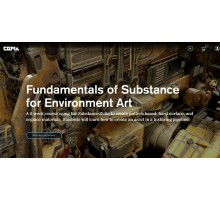 [CGMA 3D] Intro to Substance for Environment Art [RUS]. Введение в Substance для создания окружений