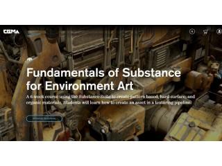 """Добавлен курс """"[CGMA 3D] Intro to Substance for Environment Art [RUS]. Введение в Substance для создания окружений"""""""