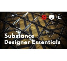 [Learn Squared] Substance Designer Essentials from Javier Perez Part 1-2 [ENG-RUS]. Основы Substance Designer от Javier Perez. Части 1-2