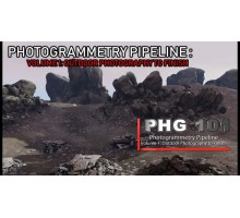 [CGcircuit] Photogrammetry Pipeline V1, V2 [RUS]. Пайплайн фотограмметрии. Том 1, Том 2