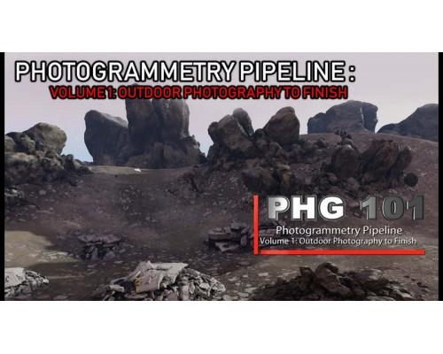 [CGcircuit] Photogrammetry Pipeline [RUS]. Пайплайн фотограмметрии. Том 1