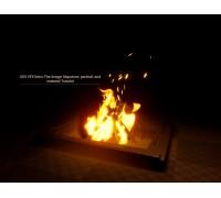 [Artstation] UE4 VFX Intro: Fire Image Sequence, partical and material [ENG-RUS]. Введение в VFX в UE4: Последовательность Изображений Огня, Руководство по частицам и материалу