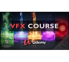 [Udemy] Unreal Engine 4 - VFX for Games - Beginner to Intermediate [ENG-RUS]. Визуальные эффекты для игр в Unreal Engine 4 - От начального до среднего уровня пользователя