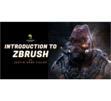[Скулизм] Introduction to ZBrush with Justin Goby Fields [ENG-RUS]. Введение в ZBrush с Justin Goby Fields